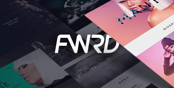 WordPress Theme FWRD